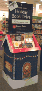 2012 Barnes and Noble Book Drive
