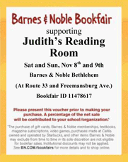 Barnes & Noble 2014 Bookfair Voucher