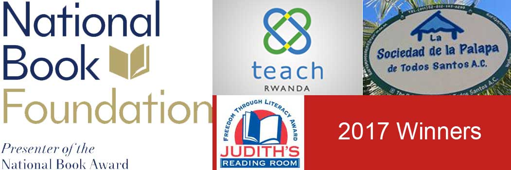 2017 Freedom Through Literacy Award Announcement!