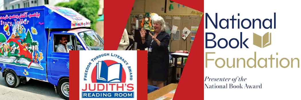 Judith's Reading Room Freedom Through Literacy Award
